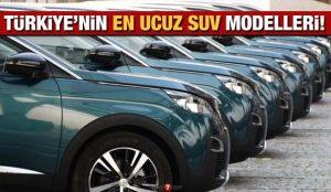 200 bin TL altı Sıfır SUV modellerinin fiyatları: Türkiye'nin en ucuz 2021 SUV modelleri!